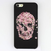 Sugar Skull Case Hard Shell Anti-scratch Premium Artisan Case for Iphone 5 5th (Same As Picture)