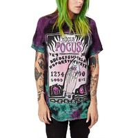 Hocus Pocus Printed Pop Punk Tees
