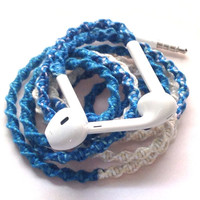 Sand & Sea MyBuds Wrapped Headphones Tangle Free Earbuds Your Choice of Headphones