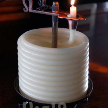 Candle by the Hour 60-hour Rope Candle