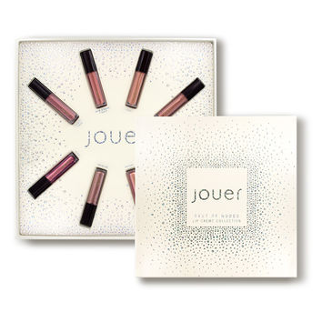 Jouer Cosmetics Best of Nudes Mini Lip Creme Set - Dermstore
