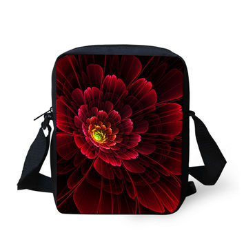 Fashion Colorful Flower Ladies Handbags Floral Printed Girls Gifts Messenger Bags Travel Crossbody Bag For Women Casual Bags