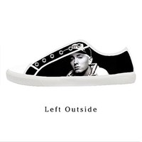 Custom Eminem Women's Canvas Shoes Fashion Shoes for Women