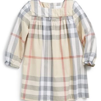 Infant Girl's Burberry 'Raegan' Dress,