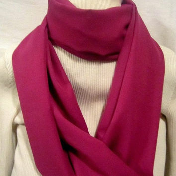 Christmas in July 15 Percent off Rose colored Infinity scarf, circle scarf, cowl scarf