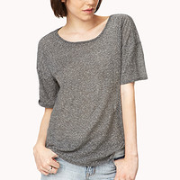 Must-Have Heathered Top