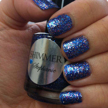 Shimmer Nail Polish - Stephanie