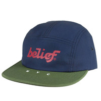 Belief: League 5 Panel - Navy / Olive