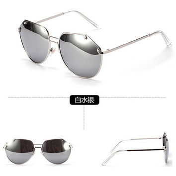 Free Shipping Personality Irregular Sunglasses Fashion Summer Polarized Lense Glasses Outdoor Driving Glasses for Women Men JJAL