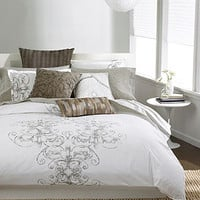 Bar III Bedding, Vintage Scroll Collection - Duvet Covers - Bed & Bath - Macy's