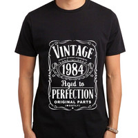 Vintage Aged Of Perfection 31st Men Tshirt