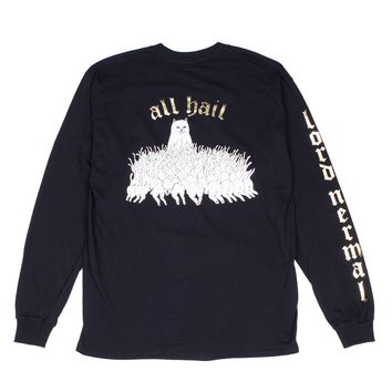 All Hail L/S (Black / Gold)
