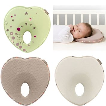 Mambobaby Memory Baby Pillow Dot Room Infant Sleep Shape Pillow Corrective Head Pillows For Newborn Support Prevent Flat Head