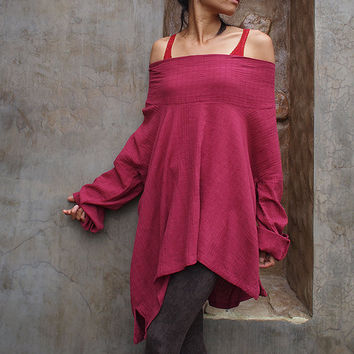 Sassy me long.... All colour  linen cotton blend XXL and  (Custom size)