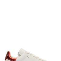 Isabel Marant White Leather Bart Sneakers