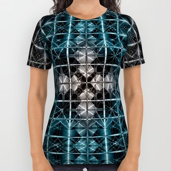 Abstract geometric BG All Over Print Shirt by VanessaGF | Society6
