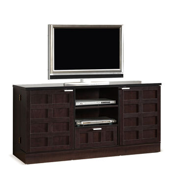 Design Studios Tosato Brown Modern TV Stand and Media Cabinet - Dark Brown