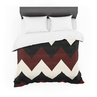 "Catherine McDonald ""Oxfords and Button Ups"" Featherweight Duvet Cover"