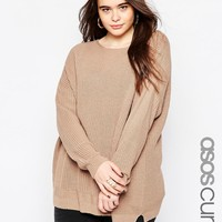 ASOS CURVE Ultimate Chunky Jumper at asos.com