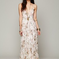 Free People Heidi Printed Floral Dress