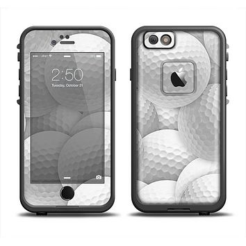 The Golf Ball Overlay Apple iPhone 6/6s LifeProof Fre Case Skin Set