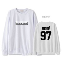ALLKPOPER KPOP BLACKPINK SQUARE ONE Sweatershirt JENNIE Unisex Hoodie Pullover