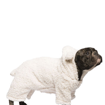 0737-48289903 Sherpa Lamb Dog Onesuit