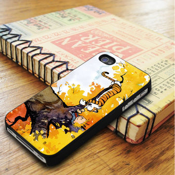 Calvin And Hobbes Cartoon Comic iPhone 5 | iPhone 5S Case