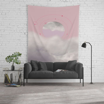 Floating in Clouds Wall Tapestry by naturalcolors
