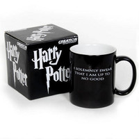 Harry Potter I Solemnly Swear...Mischief Managed Heat Transforming Mug | HarryPotterShop.com