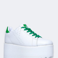 PLATFORM LACE UP SNEAKER