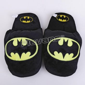 Deadpool Dead pool Taco Superhero Batman Superman  Spiderman Plush Shoes Home House Winter Slippers for Children Women Men AT_70_6