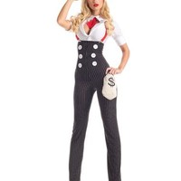 Heist Hottie Gangster Adult Womens Costume – Spirit Halloween