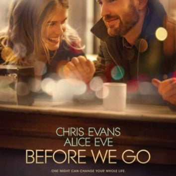 Before We Go Movie Mini poster 11inx17in