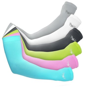 Aonijie Arm Sunscreen Breathable Cuff Sleeve Cover UV Protected Arm Summer Sport Hiking Cycling 5 Colors