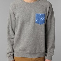 BDG Polka Dot Printed Pocket Sweatshirt