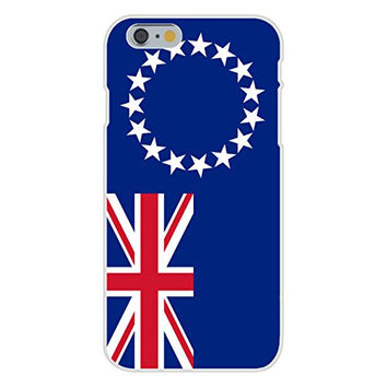 Apple iPhone 6 Custom Case White Plastic Snap On - Cook Island - World Country National Flags