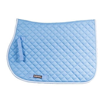 Horze Equestrian Chooze Allround Saddle Pad - Light Blue