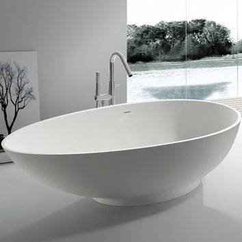 "Oval Freestanding Bathtub (71""x35"") - SW-113"