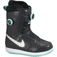 Nike Zoom Force 1 X Boa Snowboard Boot - Women's Black/Bleached Turquoise/White,