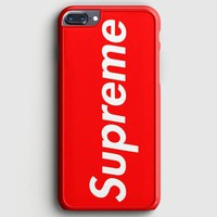 Supreme New York Clothing Skateboarding iPhone 8 Plus Case