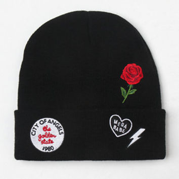 LA Hearts City Of Angeles Patched Beanie at PacSun.com