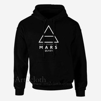 30 Seconds to Mars Unisex Hoodie ,Funny Hoodie ,Quotes Hoodie | art2cloth