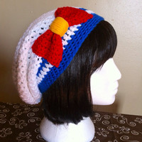 Sailor Moon/Scout Inspired Slouchy Hat