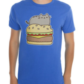 Pusheen Cheeseburger T-Shirt