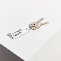 Various Keytags Keychain - Urban Outfitters