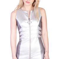 Barbarella Dress Silver