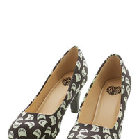 ModCloth Quirky Are You Kitten Me? Heel