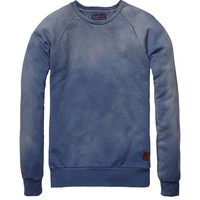 Basic Garment Dyed Crew Neck - Scotch & Soda