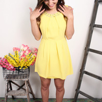 Isn't She Lovely Dress, Yellow